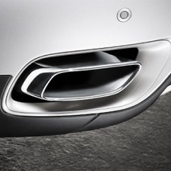 Оригинал BMW Насадка на выпуск.трубу, хром (18302154632)