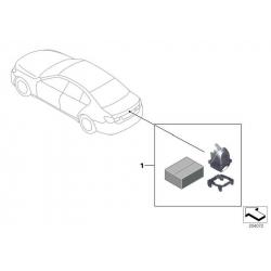 Оригинал BMW К-т доосн.видеокамерой заднего вида (66212154689)