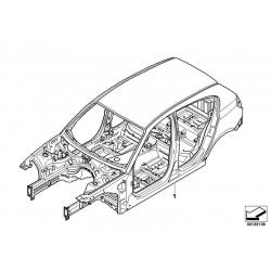 Оригинал BMW Каркас кузова (41007152848)