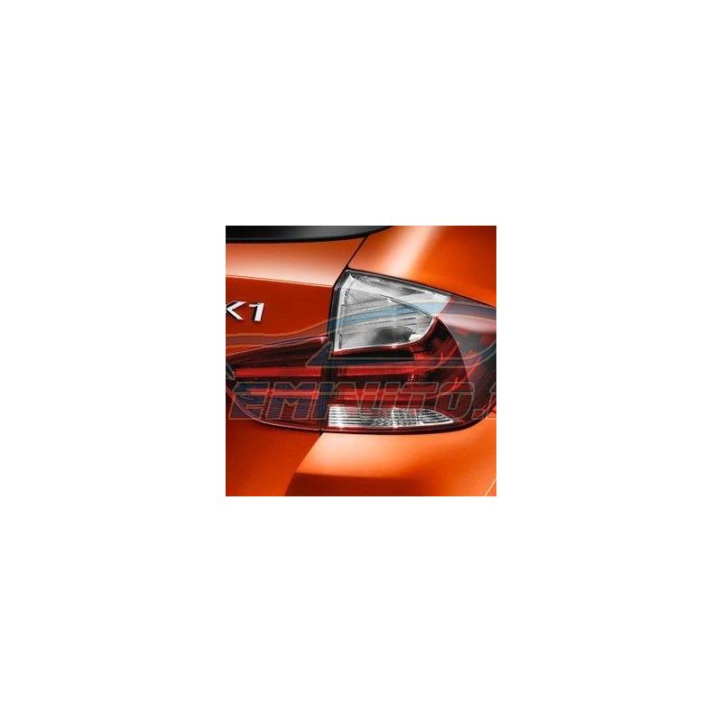 Оригинал BMW К-т доосн.блоками фонарей Зд Black Line (63212167285)