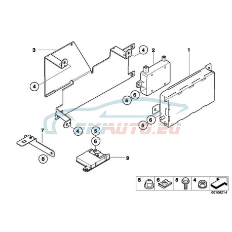 Genuine BMW Charging Electronics Handsfree 84109154358: BMW N62 Wiring Diagrams At Hrqsolutions.co