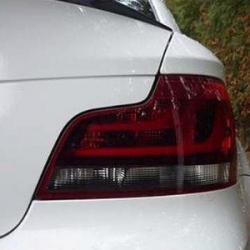 Оригинал BMW К-т блоков фонарей Зд Black Line (63212225381)