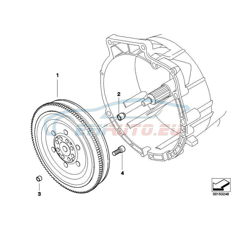 Оригинал BMW Винт ISA (11227797965)