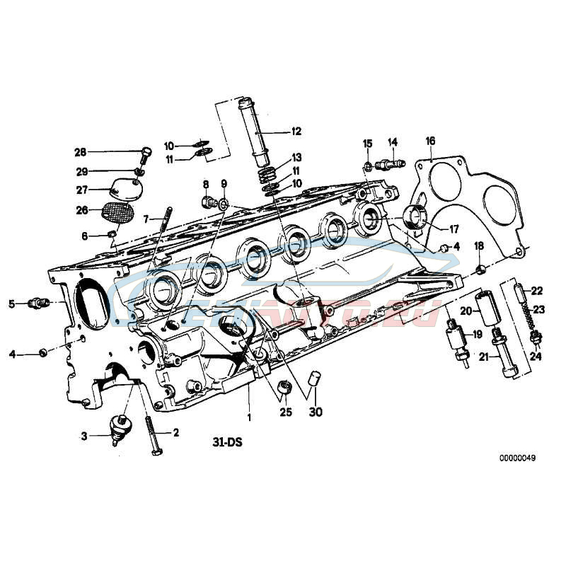 Оригинал BMW Подшипн. игольч. без Внутр кольца (11111265412)
