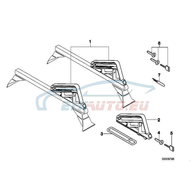 Original BMW Schlüssel (Code) (82129413171)