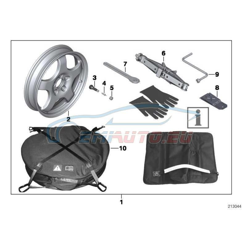 Оригинал BMW Система аварийного колеса (36112159860)