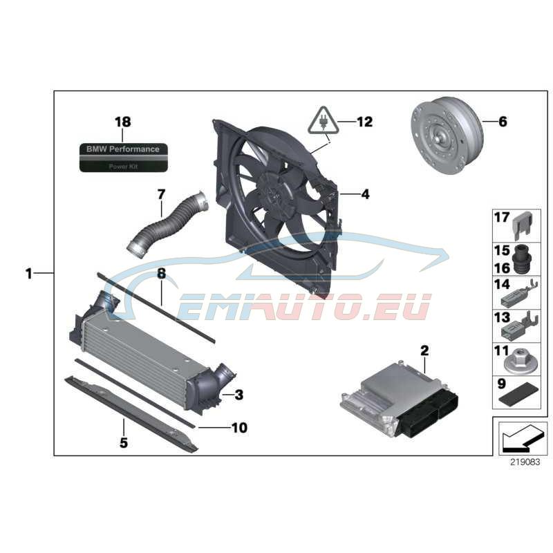 Оригинал BMW Пакет Power Kit (11122179617)