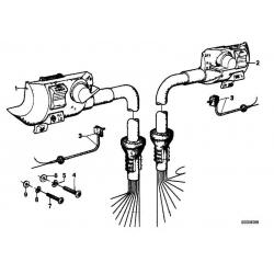 Оригинал BMW Комбинированный выключатель П (61311243730)