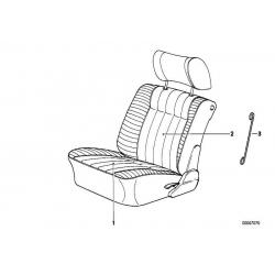 Оригинал BMW обивка подушки кожа (52108157660)
