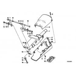 Оригинал BMW Винт со сферо-цилиндрической головкой (07119907587)