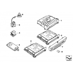 Original BMW CD-Laufwerk (65839182158)