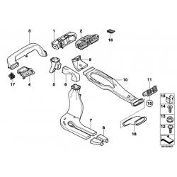 Оригинал BMW Вентиляционная решетка Л (64229112203)