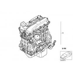 Оригинал BMW Оборотный силовой агрегат (11000404480)