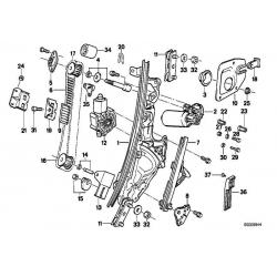 Оригинал BMW Сервопривод двери переднего пассажира (67161394370)