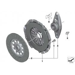 Оригинал BMW Ведомый диск сцепления (21207567842)