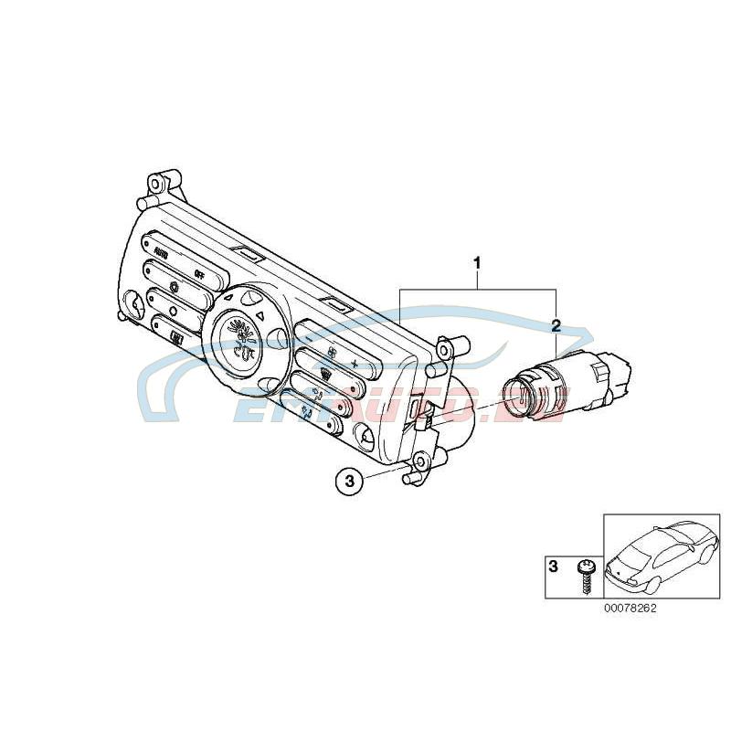 Оригинал BMW Винт для термопластичных пластиков (07147118900)