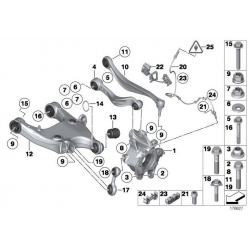 Genuine BMW Wishbone, left (33326782131)