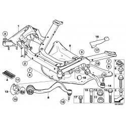 Оригинал BMW Поперечный рычаг подвески П (31126777940)