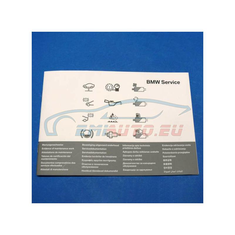 Оригинал BMW Сервисный справочник, многоязычный (01492602175)