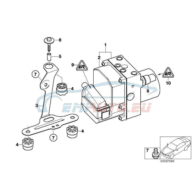 Bobcat 843 Injector Pump