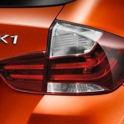 Оригинал BMW К-т доосн.блоками фонарей Зд Black Line (63212167286)
