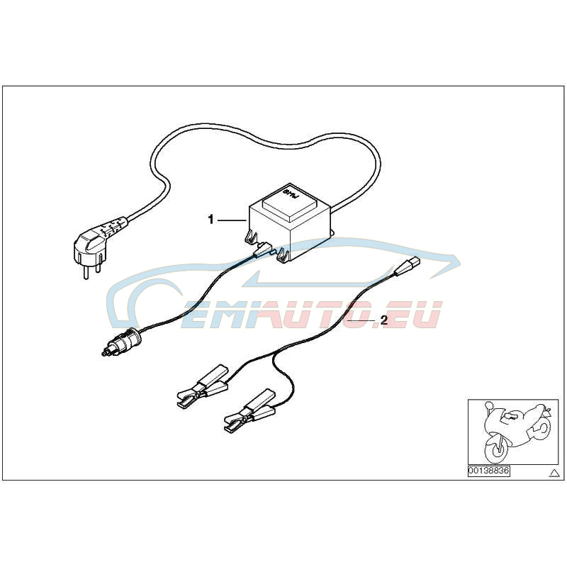 Genuine Bmw Battery Charger 77027722470 Worldwide Delivery