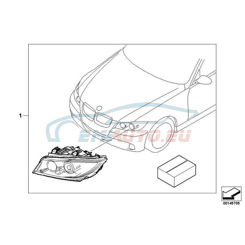Genuine BMW Retrofit kit adaptive headlights (63130404197) -- Worldwide  delivery