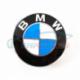 Genuine BMW Hub cap with chrome edge (36136783536)