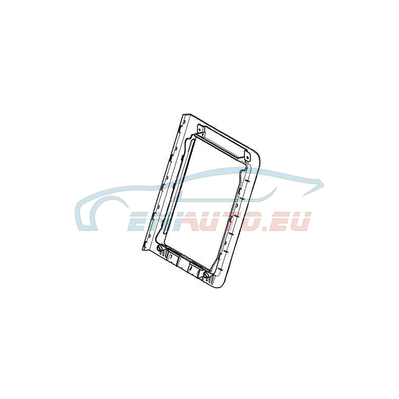 Original BMW Rahmen Skisack (52207147521)