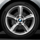 Genuine BMW Wheel/tyre set, summer, polished finish (36112241480)