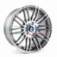 Genuine BMW Disc wheel, light alloy, bright-turned (36116781045)