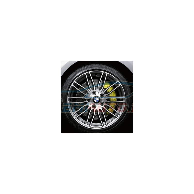 Genuine BMW Disc wheel, light alloy, bright-turned (36116781043)