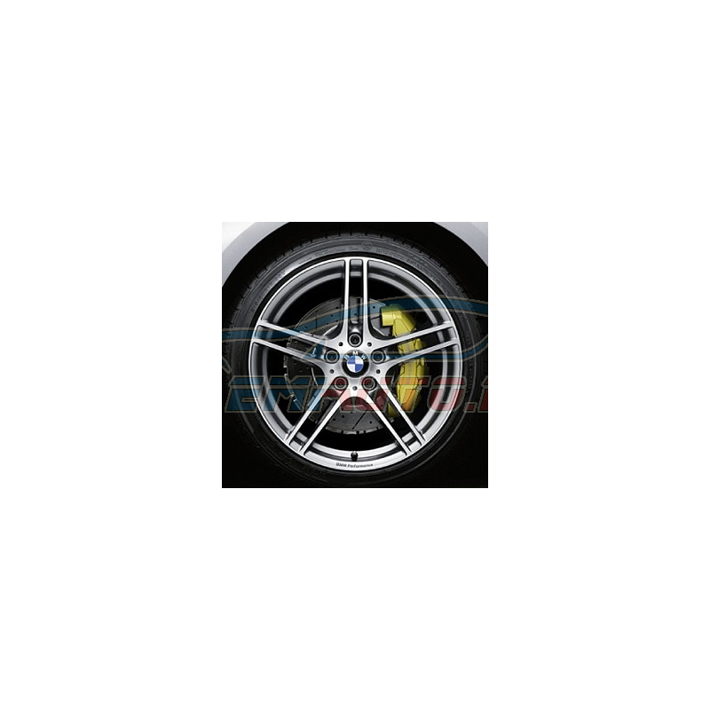 Genuine BMW Disc wheel, light alloy, bright-turned (36116791998)