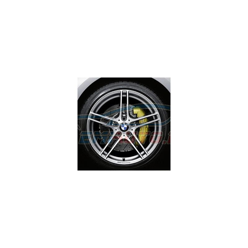 Original BMW Scheibenrad Leichtmetall glanzgedreht (36116791998)