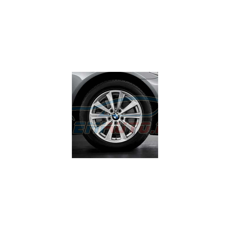 Genuine BMW Disc wheel, light alloy, reflex-silber (36116780720)