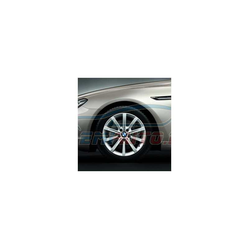 Original BMW Scheibenrad Leichtmetall reflex-silber (36116794688)