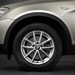 Оригинал BMW Дисковое колесо ЛМ отражающее серебро (36116787575)