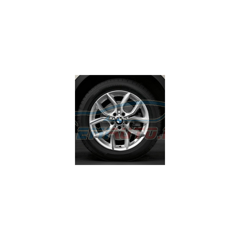 Genuine BMW Light alloy disc wheel Reflexsilber (36116787579)
