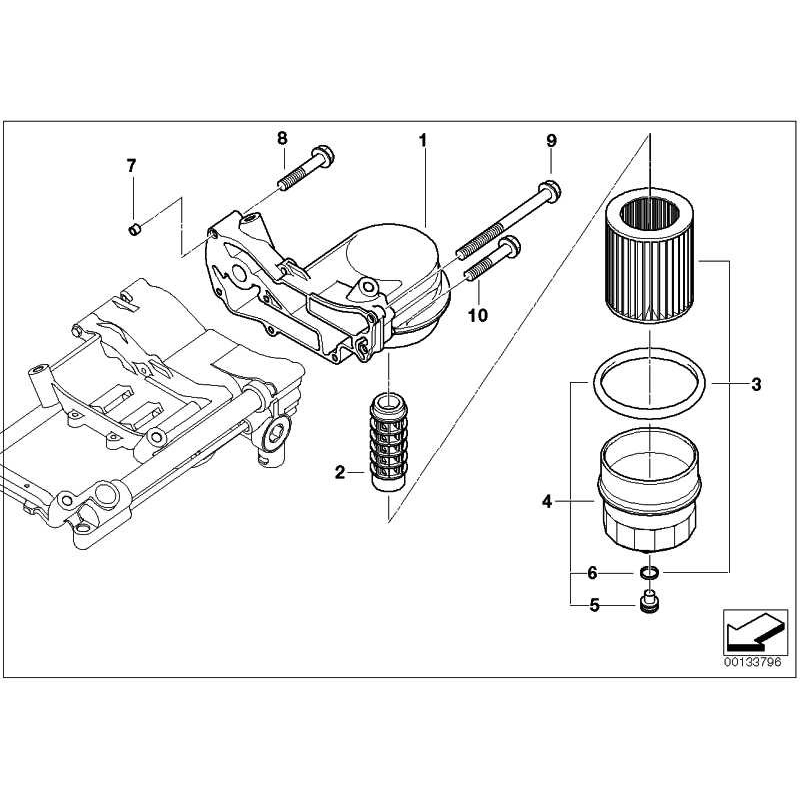 Genuine Bmw Oil Filter Unit 11417508642 Worldwide Delivery