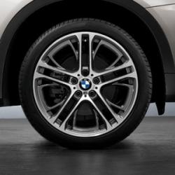 Оригинал BMW К-т колес в сб., летний, дов. до блеска (36112230158)