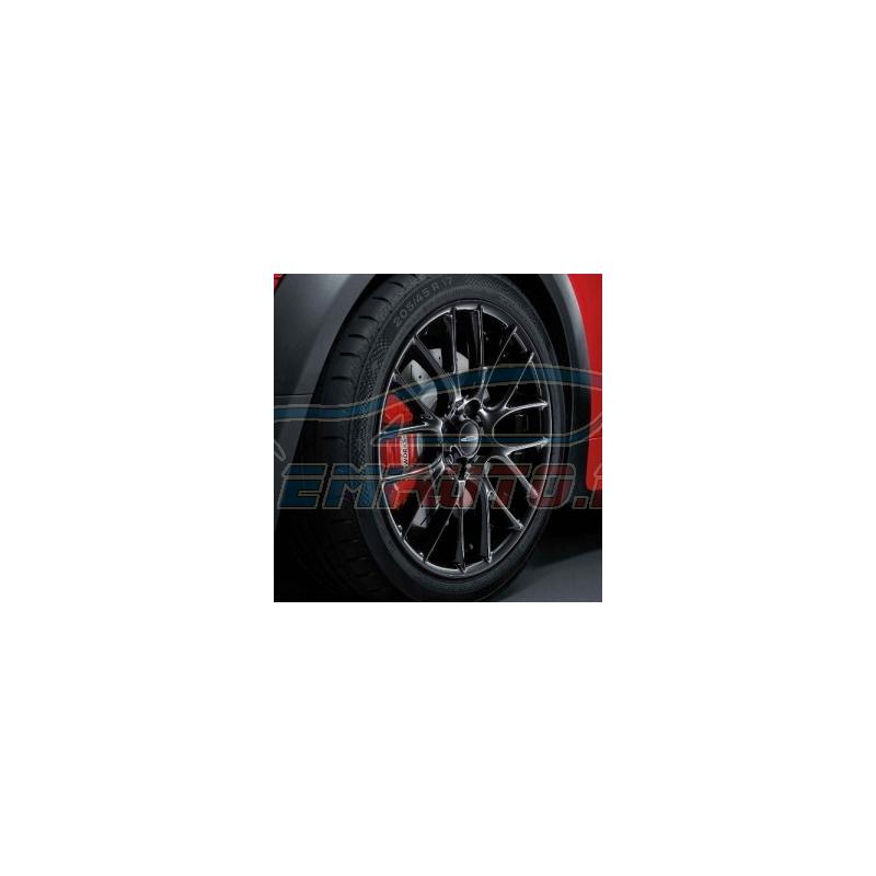 Genuine Mini Wheel/tyre set, summer, black (36112181511)