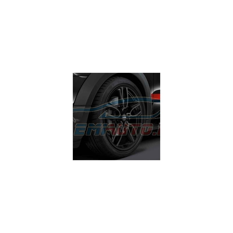 Genuine Mini Wheel-and-tyre set, summer, matt black (36112181231)