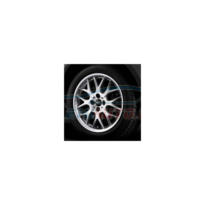 Genuine Mini Set complete alloy wheels summer (36110422233)