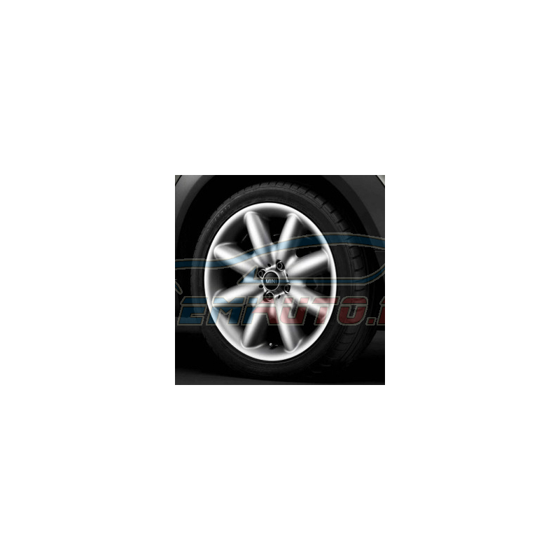 Genuine Mini Set complete alloy wheels summer (36110419112)