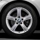 Genuine BMW Set complete alloy wheels summer (36112296924)