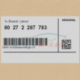 Genuine BMW key ring X1 (80272287783)