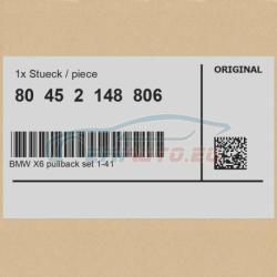 Оригинал К-т BMW X6 pullback, масштаб 1:41 (80452148806)