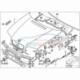 Original BMW Abdichtung Aggregateraum links (51718215913)