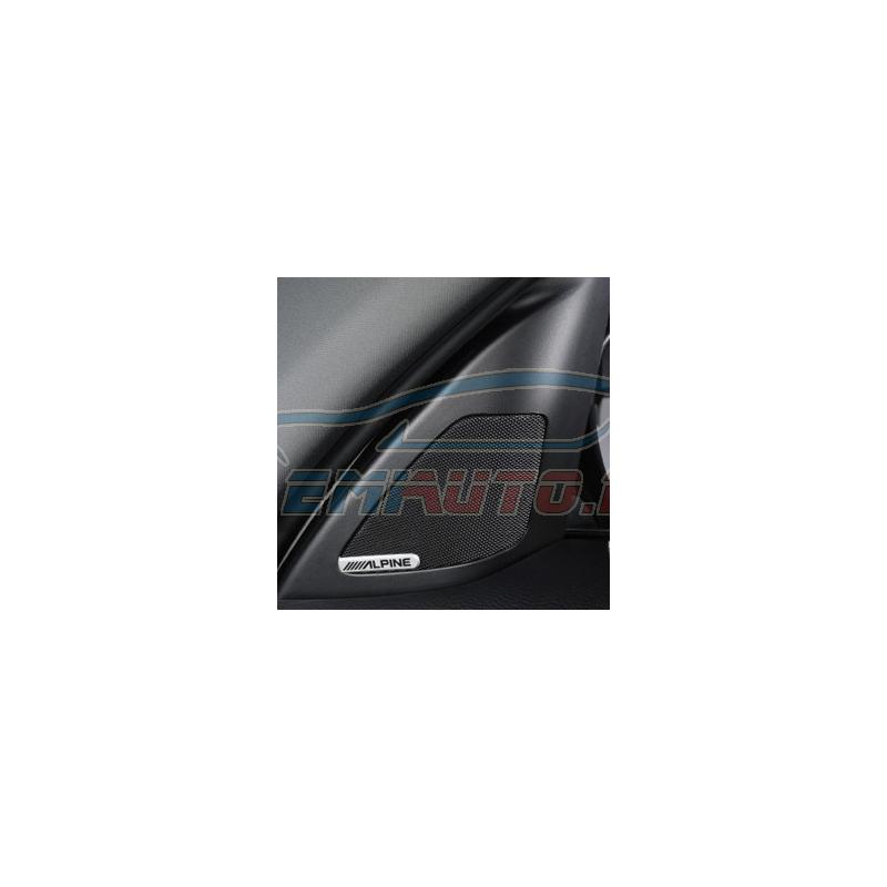 Genuine BMW Retrofit kit HiFi System Alpine (65412167061)