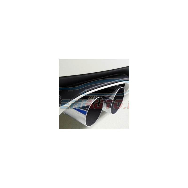 Genuine BMW M Performance tailpipe trim, chrome (18302293739)